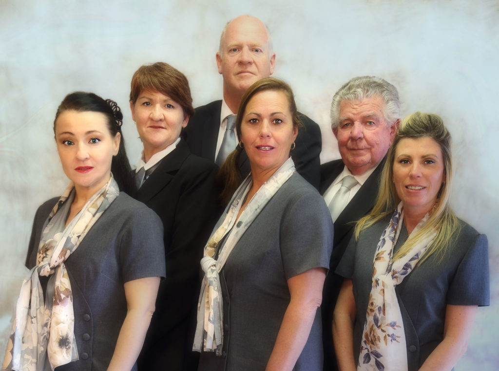 Superior Family Funeral Care staff