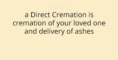 Direct Cremation $1995
