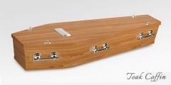 Teak Coffin