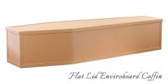 Flat Lid Enviroboard Coffin