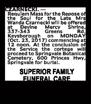 Mr Gregory James Mitchem Funeral Notice