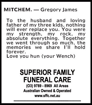 Mr Gregory James Mitchem