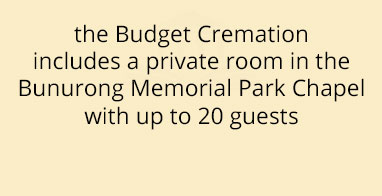 Budget Cremation $2650
